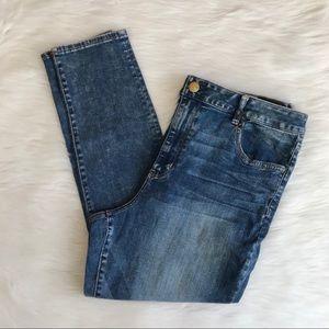 American Eagle High Rise Jegging Jeans 20 Short